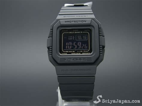Casio Original G 056b Second casio g shock gw 5510 1bjf multi band 6 seiyajapan
