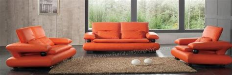burnt orange sofa set modern orange sectional sofa set 3 2 1 orange leather sofa