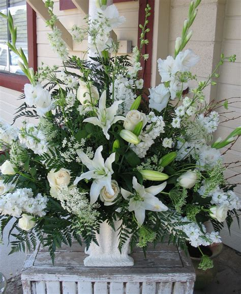 Church Wedding Flower Arrangements by Church Wedding Alter Floowers Wedding