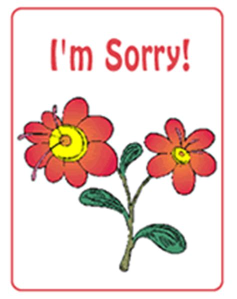 i m sorry free printable greeting cards template apology