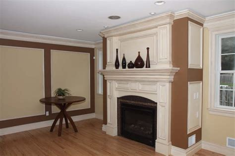 fireplace mantel trim custom fireplace mantles build ins new york by trim