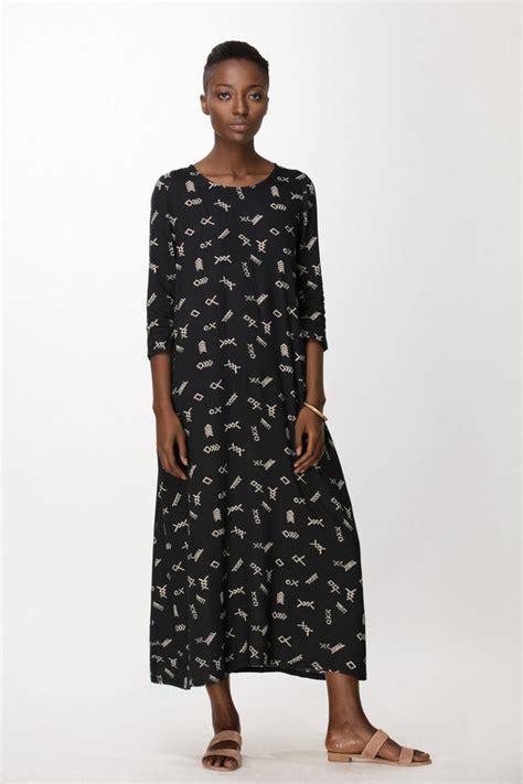 Duro Dresses by Osei Duro Nima Dress In Black Jot Garmentory