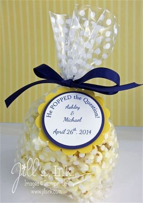 pretty bridal shower favors he popped the question favors pretty bridal shower favors livingly