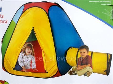 play huts big playhut hexagon hut tunnel tent pop up set play hut