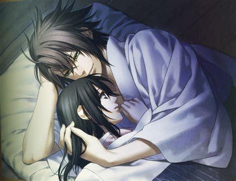anime futon souji and chizuru hakuouki photo 32882880 fanpop