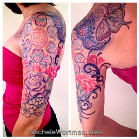 lacey tattoos michele wortman tattoos sleeves caitlins