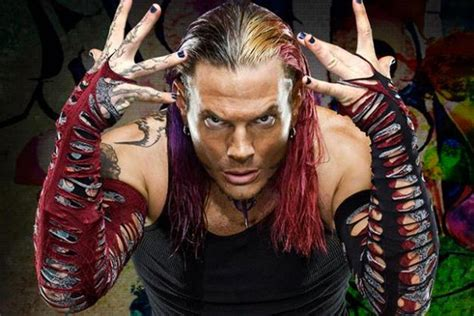 Jeff Hardy Hairstyle by Top Wrestlers With Haircut Black And