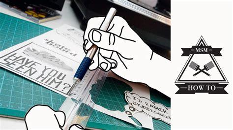 Sticker Selber Machen by How To Sticker Selber Machen Skateboard Msm