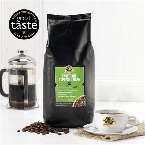 fair trade espresso ringtons fairtrade espresso coffee beans 1kg ringtons