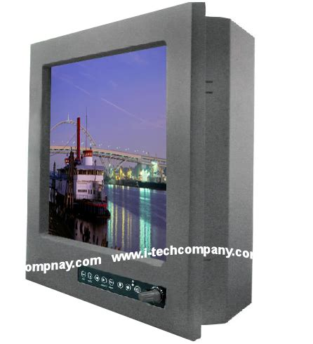 rugged lcd display 12 1 quot rugged transflective sun light readable marine lcd display i tech company