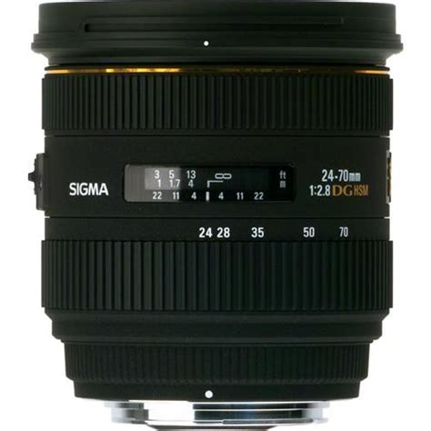Sigma 70mm F 2 8 Ex Dg Af Macro sigma 24 70mm f 2 8 if ex dg hsm lens for sony a 571205 b h