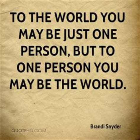 Just One You brandi snyder quotes quotehd