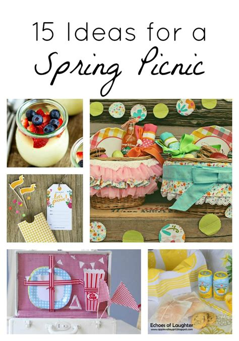 Come With Me Picnic Menu I by 15 Picnic Ideas I Nap Time