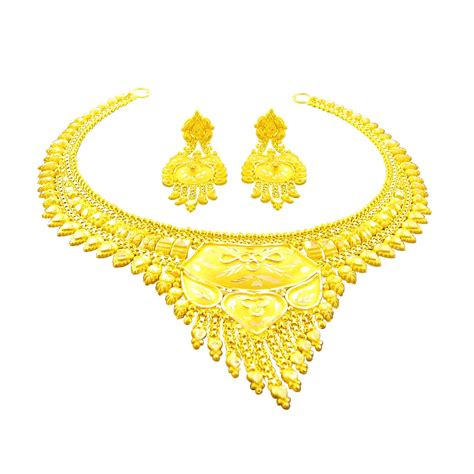 How To Buy Gold Jewelry 2 by Buy South Indian Traditional Gold Necklace Set Jpearls