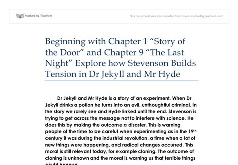 similar themes in frankenstein and dr jekyll and mr hyde how to write a good dr jekyll and mr hyde essay