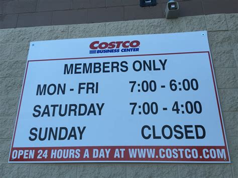 costco hours business hours yelp