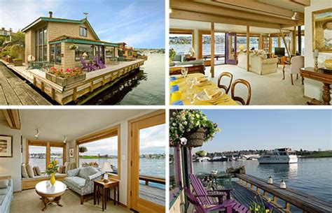 sleepless in seattle houseboat marine extreme 15 houseboats house boat designs urbanist
