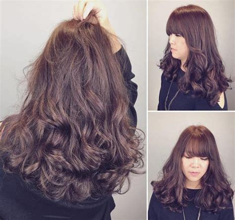 loose curl partial perm 17 best ideas about types of perms on pinterest perms