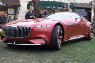 Mercedes Prototype The Mercedes Maybach Vision 6 Move Via Remote