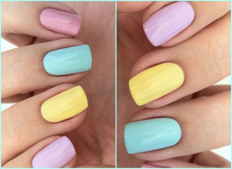 imagenes de uñas pintadas con colores pasteles viste tus u 241 as con color revestida revestida com
