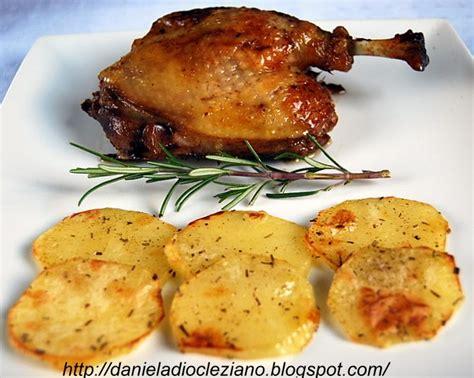 come cucinare anatra al forno daniela diocleziano anatra arrosto con patate al forno