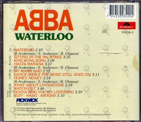Abba Detox Shoo Near Me by Abba Waterloo Album Cd Records