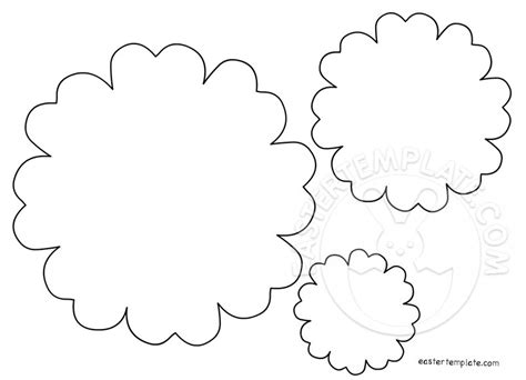 paper flower templates easter template
