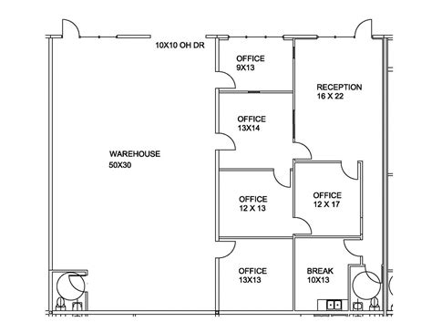 Granberry Commercial Properties Davenport Complex Warehouse Office Floor Plans