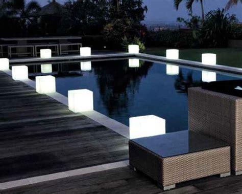 iluminacion jardin sin cables comprar l 225 mpara mesita tipo cubo con o sin cables 32cm