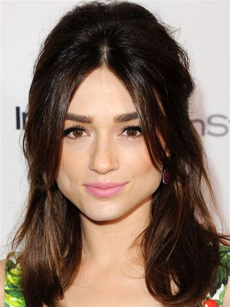short pear shaped celebrities the best and worst bangs for pear shaped faces parted