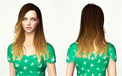 sims 4 ombre hair always sims tumblr new update ombre hair pack all