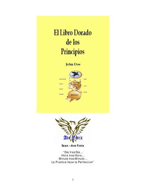 el libro dorado de 26479147 john doe el libro dorado de los principios