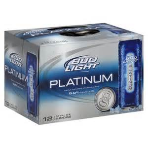 bud light platinum slim cans 12 oz 12 pk target