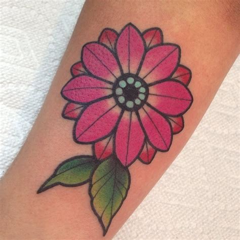 daisy tattoo design 85 best flower designs meaning 2018