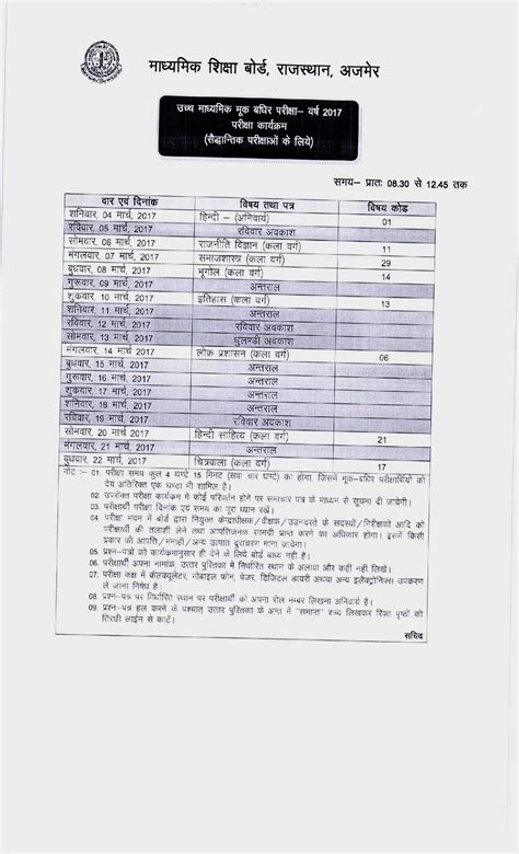 Permission Letter Rbse 2015 96 permission letter 10th rajasthan board ajmer