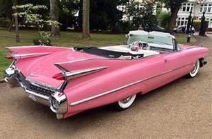Cadillac Convertibles 1959 Pink Cadillac Convertible American Wedding Cars
