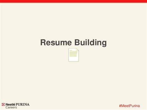Resume Building Tips Ppt resume building tips