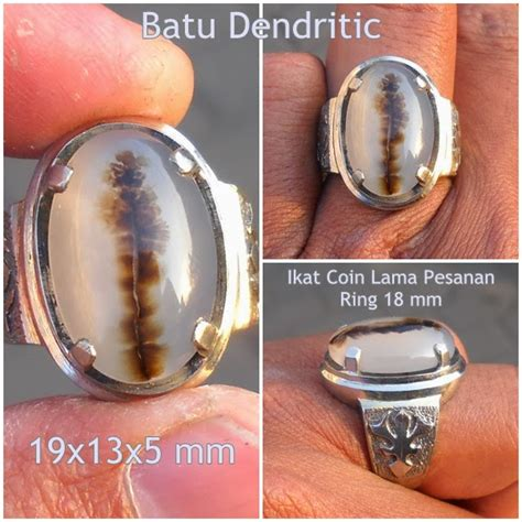 Batu Akik Dendritic Motif koleksi batu antik drt01 sold batu dendritic motif