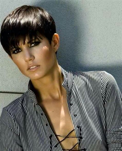 pin back a long pixie fringe cool looking pixie korte kapsels pinterest pixies