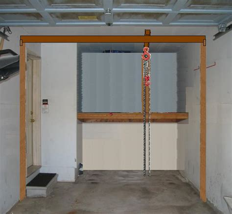 Garage Chain Hoist Dandk Organizer