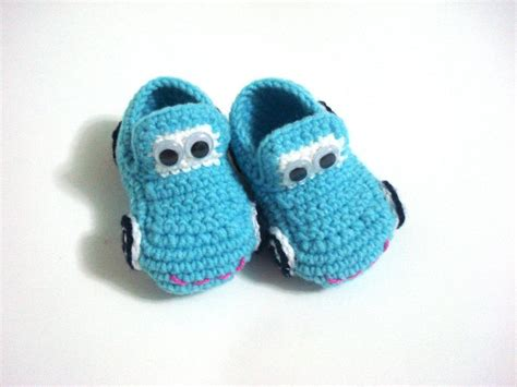 cars slippers baby boy shoes baby booties cars blue turquoise baby
