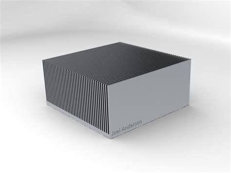 heat sink model cpu heat sink solidworks stl step iges 3d cad model