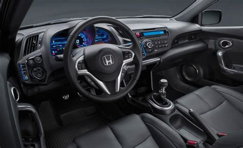 Honda Cr Z Interior by Car And Driver