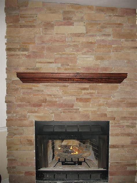 Veneer Fireplace Cost by How To Use Thin Veneer On An Indoor Fireplace