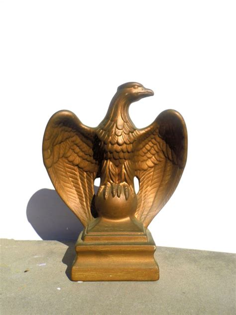 eagle home decor bald eagle chalkware eagle vintage home decor by