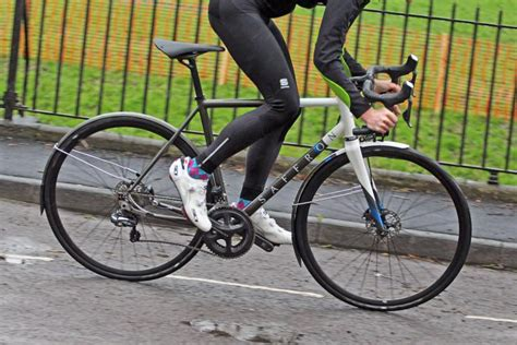 winter road cycling review bowman palace frame and fork road cc