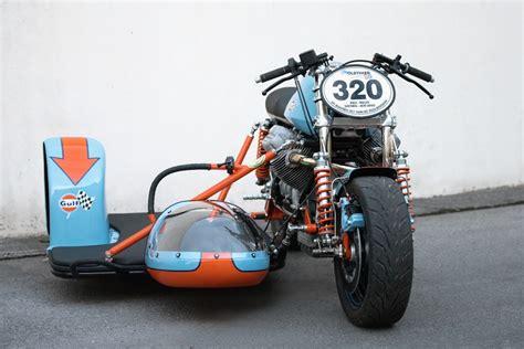 Classic Motorrad Gespann by Gespanne Guzzi Renngespann Scuderia Bonetti Galerie