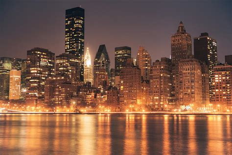 light nyc york city lights skyline at photograph by