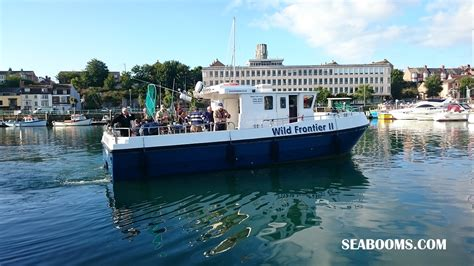 boat fishing marks poole harbour winter fishing on wild frontier ii out of weymouth with