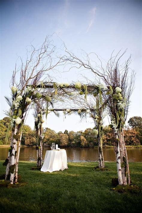 Wedding Arch Outdoor by Birch Mandap Wedding Arch Chuppah Outdoor Wedding